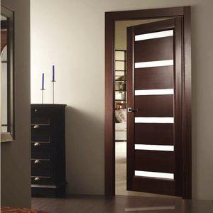 Indoor Door / Swing / Solid Wood / Semi Glazed