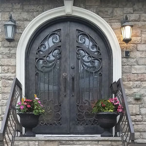 arched door / entry / swing / wrought iron & Arched door - All architecture and design manufacturers - Videos Pezcame.Com