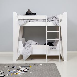 bunk bed single with headboard