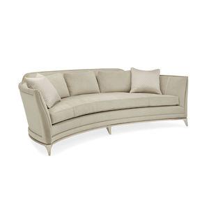 Semicircular Sofa / Contemporary / Fabric
