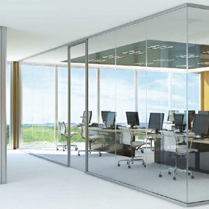 Glass partition - All architecture and design manufacturers - Videos