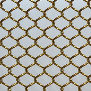 Interior woven wire fabric / aluminum / twisted - XY-AG1580 - Hebei ...