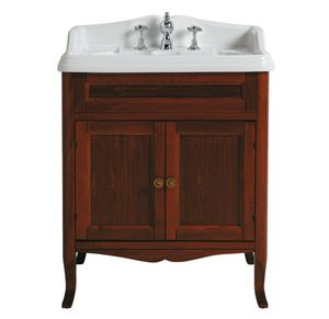 'free-standing washbasin cabinet / walnut / traditional / with drawers' from the web at 'http://img.archiexpo.com/images_ae/photo-m2/242-11689879.jpg'
