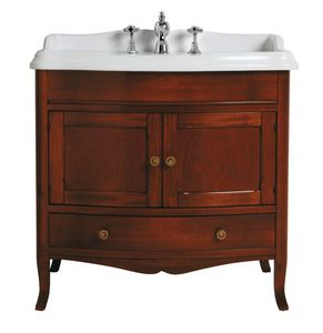 'free-standing washbasin cabinet / walnut / traditional / with drawers' from the web at 'http://img.archiexpo.com/images_ae/photo-m2/242-11689884.jpg'