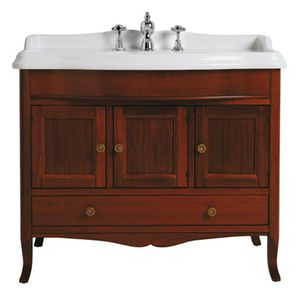 'free-standing washbasin cabinet / walnut / traditional / with drawers' from the web at 'http://img.archiexpo.com/images_ae/photo-m2/242-11689896.jpg'