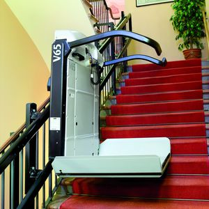Handicapped Platform Stair Lift / Inclined / Rotating / Outdoor