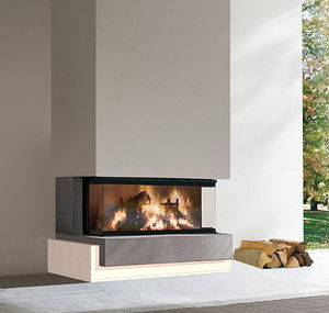 fireplace surround marble 3sided