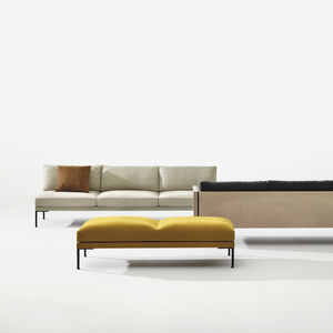 upholstered bench textile bench all architecture and design
