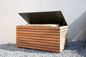 Conmoto Sotomon stainless steel planter square with trellis contemporary