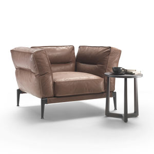 armchair fabric leather with removable cover