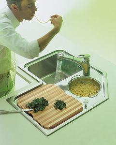 2 bowl kitchen sink stainless steel corner with drainboard - Kitchen Sinks Manufacturers