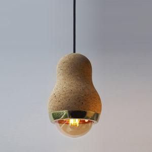 Pendant Lamp Contemporary Cork Led