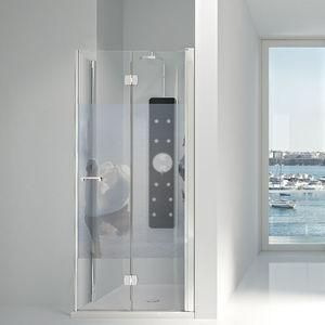 Folding Shower Screen / For Alcoves / Glass