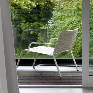 Minimalist Design Armchair / Aluminium / Polyester / Garden