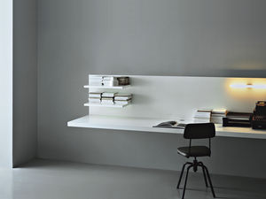 office wall desk. Wooden Desk / Contemporary For Hotels Wall-mounted Office Wall E