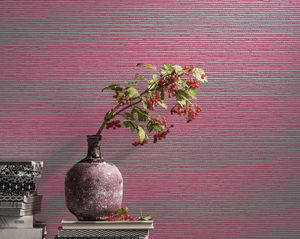 Contemporary Wallpaper Plain Fabric Look