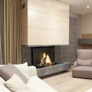 3 sided fire-place - All architecture and design manufacturers - Videos