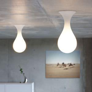 Lovely Original Design Ceiling Light / Round / Polyethylene / Halogen Images