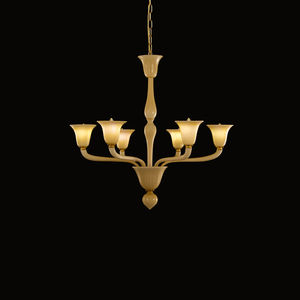 timeless lighting. Traditional Chandelier / Blown Glass Murano LED Timeless Lighting