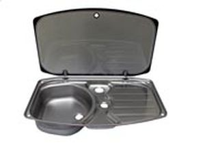 1 bowl kitchen sink stainless steel with drainboard - Compact Kitchen Sink