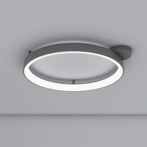 original design ceiling light round painted aluminum