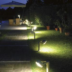 garden bollard lighting. Garden Bollard Light / Contemporary Steel LED Lighting S