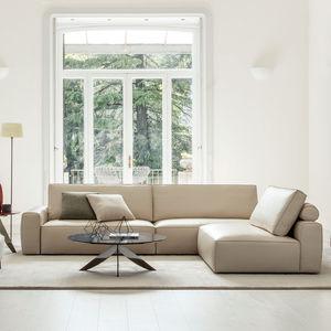 Schön Modular Sofa / Contemporary / Animal Skin / Fabric