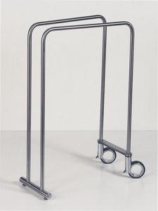 floor towel rack. 2-bar Towel Rack / Floor-standing Stainless Steel Floor