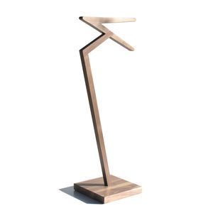 wooden valet stand - all architecture and design manufacturers