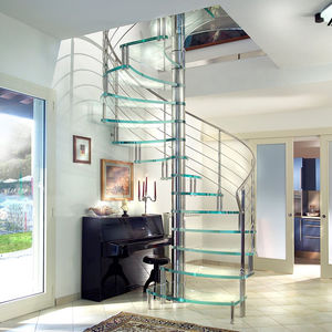 Outdoor staircase - All architecture and design manufacturers - Videos