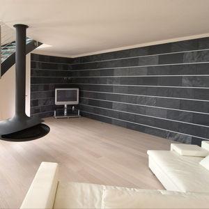 Natural Stone Wall Cladding Panel / Interior / Textured / Decorative