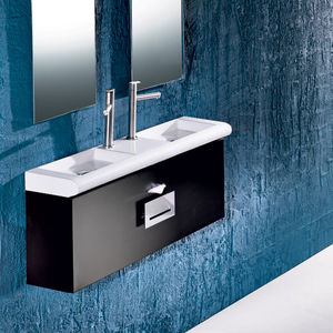 'double washbasin cabinet / wall-hung / wooden / contemporary' from the web at 'http://img.archiexpo.com/images_ae/photo-m2/50347-8425790.jpg'