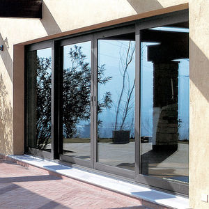 Sliding Patio Door / Aluminum / Double Glazed / Thermal Break