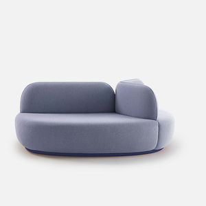 Sofa rund oval  Round sofa, Round settee - All architecture and design ...