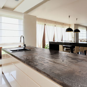 Composite Countertop / Kitchen / Recycled / Black