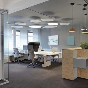False Ceiling Sound Absorbing Panel / For Interior Walls / Foam / Flexible