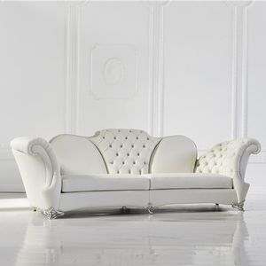 Lieblich New Baroque Design Sofa / Leather / 2 Person / 3 Seater