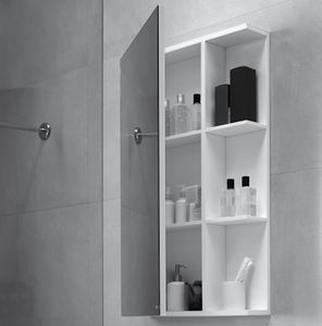 mirrored bathroom wall cabinet