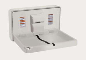 commercial diaper changing station