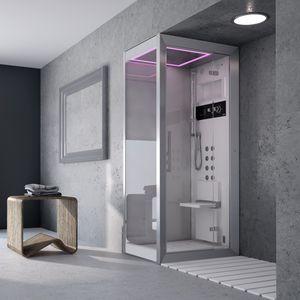 shower cubicle glass corner