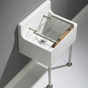 Wall Mounted Laundry Sink / Ceramic