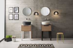 'free-standing washbasin cabinet / wooden / contemporary / with drawers' from the web at 'http://img.archiexpo.com/images_ae/photo-m2/52076-10868260.jpg'