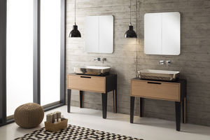 'free-standing washbasin cabinet / wooden / contemporary / with drawers' from the web at 'http://img.archiexpo.com/images_ae/photo-m2/52076-10868442.jpg'