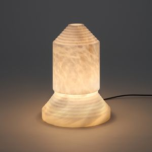 Table Lamp / Original Design / Alabaster / Incandescent