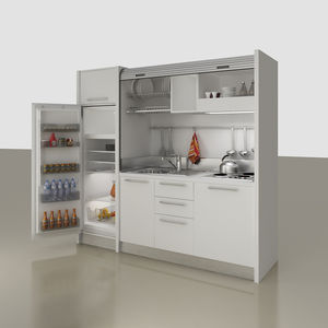 Charmant Kitchenette With Integrated Appliances / Hidden / Compact / For Studio  Apartement