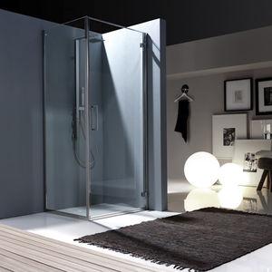 Swing shower screen / corner - DUNA: BX1 AXIA - Bianchi & Fontana