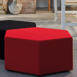 Contemporary Pouf / Fabric / Modular / Contract