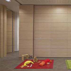 wooden partitions, wood partition-walls - all architecture and