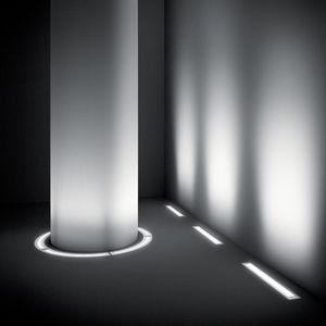 Recessed floor light fixture   LED   linear   outdoorRecessed floor light fixture   All architecture and design  . Inground Linear Led Lighting. Home Design Ideas