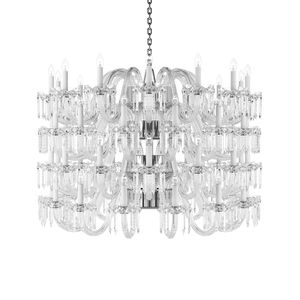 Preciosa lighting archiexpo traditional chandelier crystal chrome aloadofball Image collections